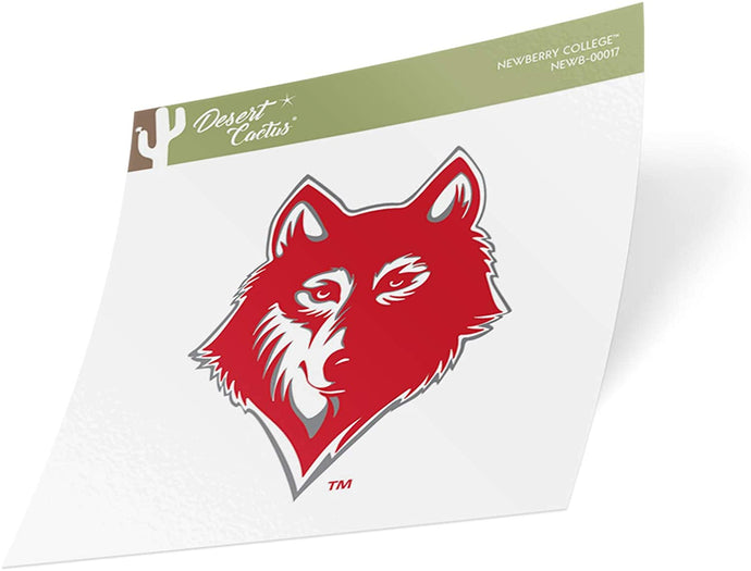 Newberry College Wolves NCAA Vinyl Decal Laptop Water Bottle Car Scrapbook (Sticker - 00017)