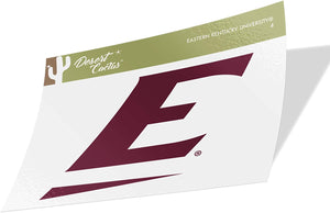 Eastern Kentucky University EKU Colonels NCAA Vinyl Decal Laptop Water Bottle Car Scrapbook (Sticker - 4)