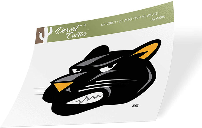 University of Wisconsin-Milwaukee UWM Panthers NCAA Vinyl Decal Laptop Water Bottle Car Scrapbook (Sticker - 006)