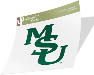 Minot State University Beavers NCAA Vinyl Decal Laptop Water Bottle Car Scrapbook (Sticker - 00049a)