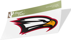 Polk State College Eagles NCAA Vinyl Decal Laptop Water Bottle Car Scrapbook (Sticker - 00001A)