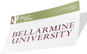 Bellarmine University Knights NCAA Vinyl Decal Laptop Water Bottle Car Scrapbook (Sticker - 00025a)