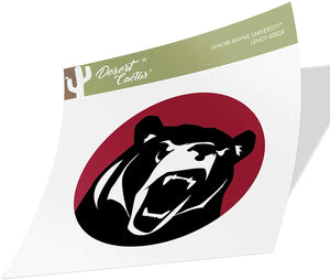 Lenoir-Rhyne University Bears NCAA Vinyl Decal Laptop Water Bottle Car Scrapbook (Sticker - 00024)