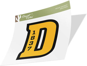 DePauw University Tigers NCAA Vinyl Decal Laptop Water Bottle Car Scrapbook (Sticker - 00036)