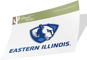 Eastern Illinois University EIU Panthers NCAA Vinyl Decal Laptop Water Bottle Car Scrapbook (Sticker - 1)