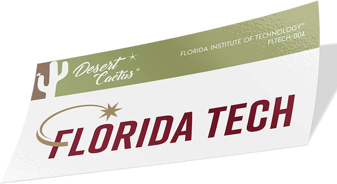 Florida Institute of Technology Panthers NCAA Vinyl Decal Laptop Water Bottle Car Scrapbook (Sticker - 004)