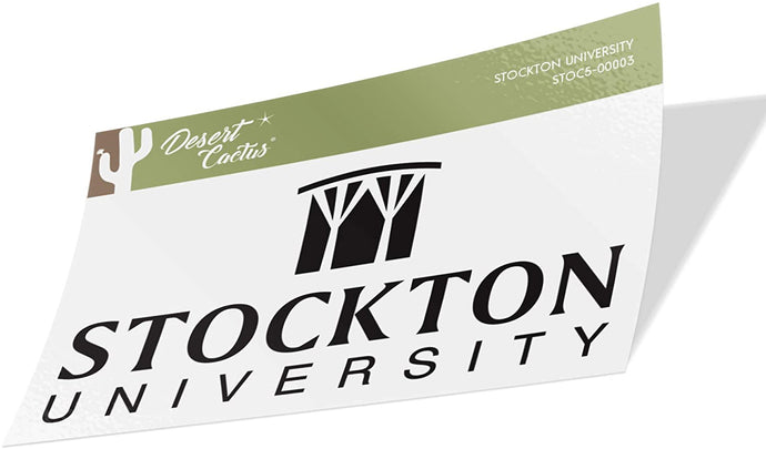 Stockton University Ospreys NCAA Vinyl Decal Laptop Water Bottle Car Scrapbook (Sticker - 00003)