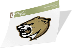 Caldwell University Cougars NCAA Vinyl Decal Laptop Water Bottle Car Scrapbook (Sticker - 00088)