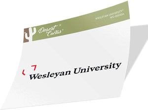 Wesleyan University Cardinals NCAA Vinyl Decal Laptop Water Bottle Car Scrapbook (Sticker - 00020a)