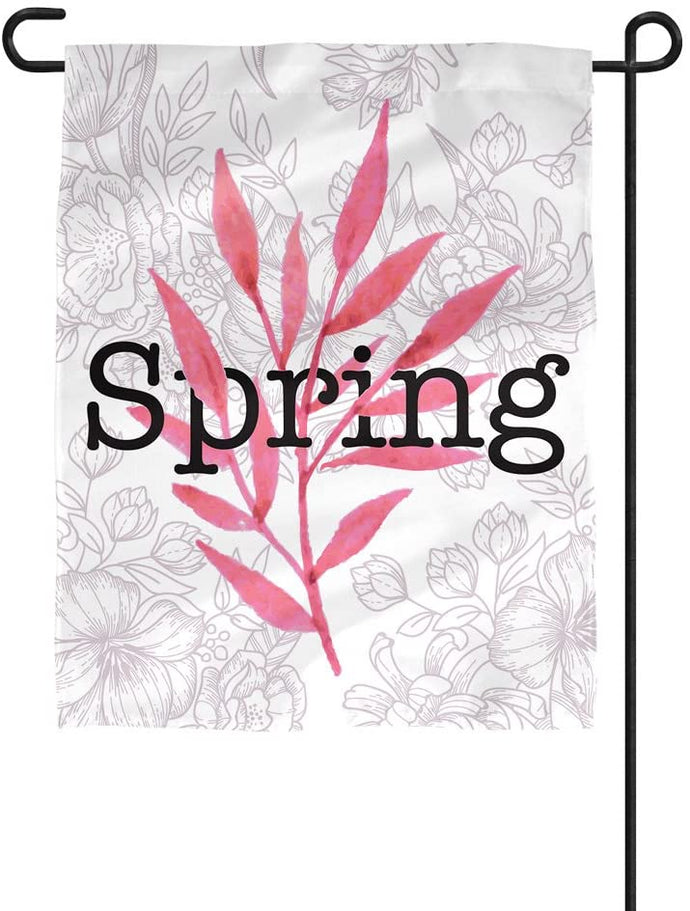 Spring 12 Inches Wide x 18 Inches Tall Double-Sided Garden Flag 100% Polyester Outside (Spring-3-01)