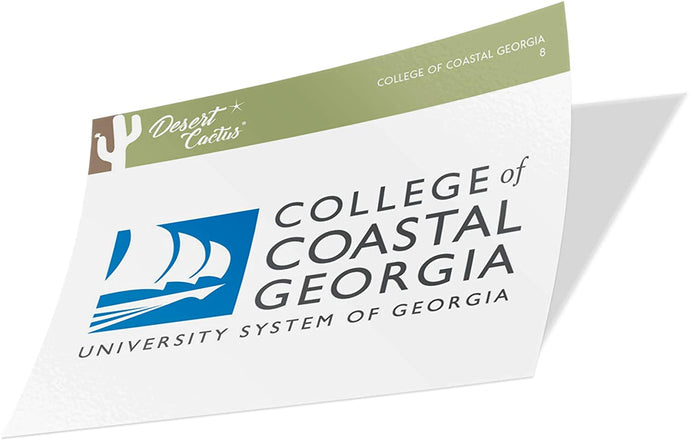 College of Coastal Georgia Mariners NCAA Vinyl Decal Laptop Water Bottle Car Scrapbook (Sticker - 8)