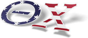 Theta Chi USA Letter Sticker Decal Greek 2 Inches Tall for Window Laptop Computer Car T Chi