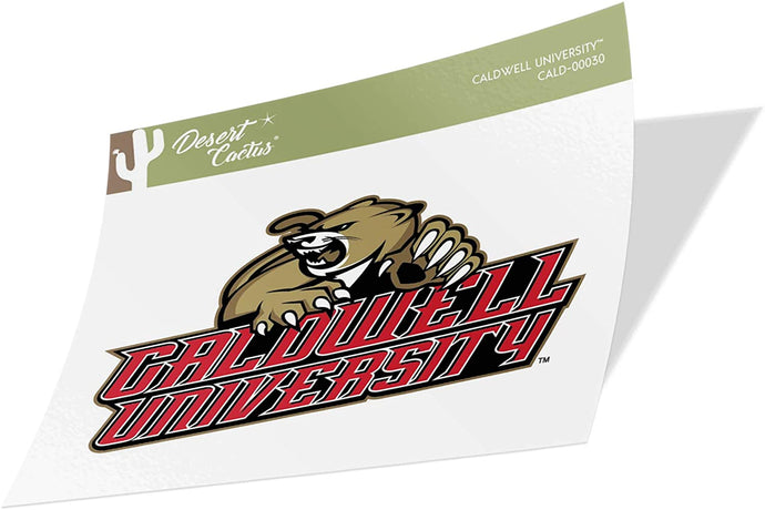 Caldwell University Cougars NCAA Vinyl Decal Laptop Water Bottle Car Scrapbook (Sticker - 00030)