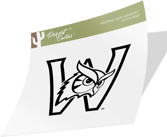 Westfield State University WSU Owls NCAA Vinyl Decal Laptop Water Bottle Car Scrapbook (Sticker - 00003)