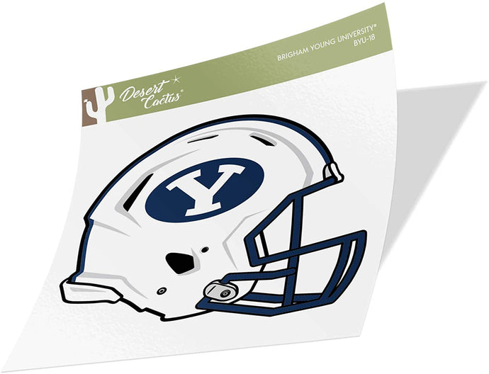 Brigham Young University BYU Cougars NCAA Vinyl Decal Laptop Water Bottle Car Scrapbook (Sticker - 18)