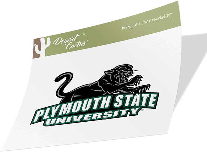 Plymouth State University Panthers NCAA Vinyl Decal Laptop Water Bottle Car Scrapbook (Sticker - 1)