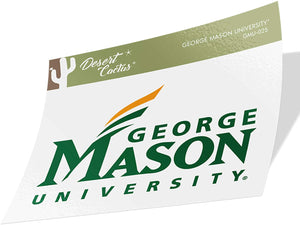 George Mason University GMU Patriots NCAA Vinyl Decal Laptop Water Bottle Car Scrapbook (Sticker - 25)