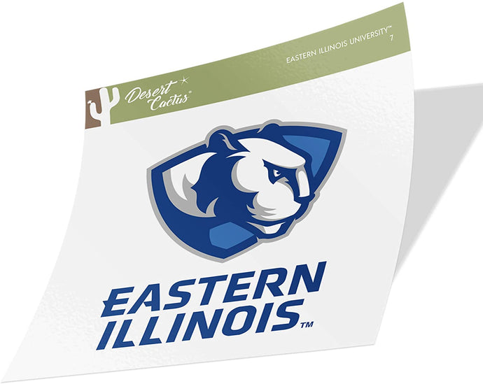 Eastern Illinois University EIU Panthers NCAA Vinyl Decal Laptop Water Bottle Car Scrapbook (Sticker - 7)
