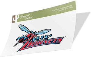 Delaware State University DSU Hornets NCAA Vinyl Decal Laptop Water Bottle Car Scrapbook (Sticker - Youth Logo Mark)
