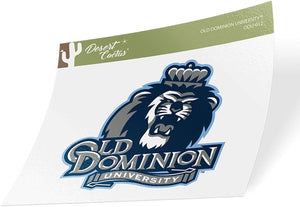 Old Dominion University ODU Monarchs NCAA Vinyl Decal Laptop Water Bottle Car Scrapbook (Sticker - 012)