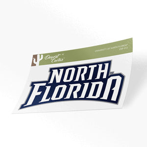 University of North Florida UNF Ospreys NCAA Vinyl Decal Laptop Water Bottle Car Scrapbook (Sticker - 012)