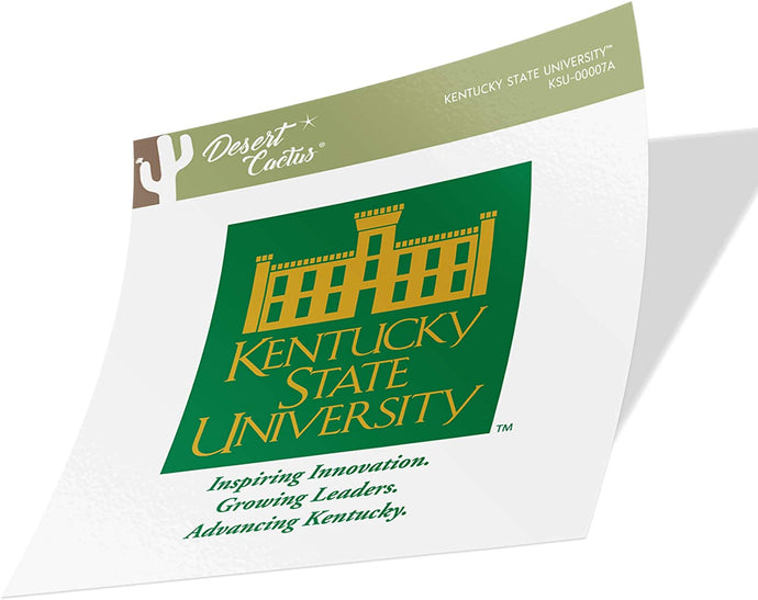 Kentucky State University Thorobreds Thorobrettes NCAA Vinyl Decal Laptop Water Bottle Car Scrapbook (Sticker - 00007a)