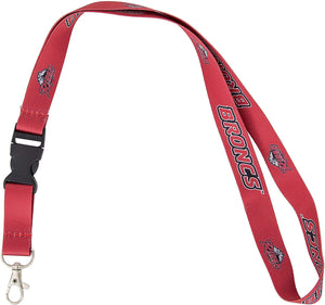 Rider University Broncs NCAA Car Keys ID Badge Holder Lanyard Keychain Detachable Breakaway Snap Buckle