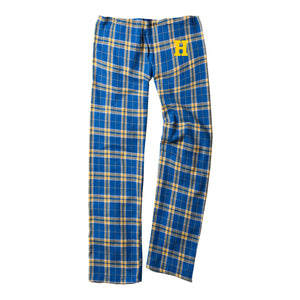 Hampton Band Holiday - Y20 Boxercraft Youth Royal/Gold Sleep Pants