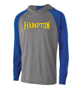 Hampton Central - 222539 Royal/Graphite Pullover Hoodie