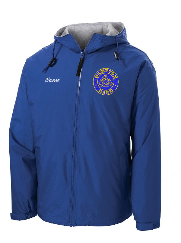 Hampton Embroidered Design With Name - YJP56 Youth Royal Blue Team Jacket