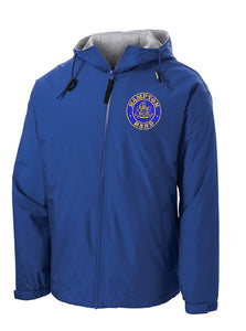 Hampton Embroidered Design - YJP56 Youth Royal Blue Team Jacket