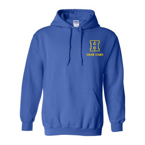Hampton H - 18500B Royal Blue Youth Pullover Hoodie