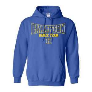 Hampton - 18500B Royal Blue Youth Pullover Hoodie