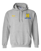 Load image into Gallery viewer, Hampton H With Name - 18500B Sport Grey Youth Pullover Hoodie