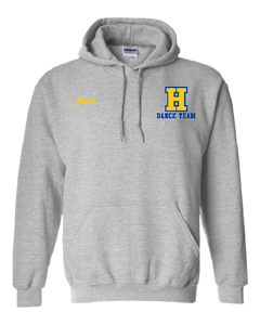 Hampton H With Name - 18500B Sport Grey Youth Pullover Hoodie