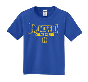 Hampton - 29B Royal Blue Dri Power Youth Tee