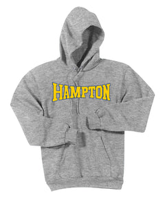 Hampton Central - PC90HT Tall Athletic Heather Pullover Hoodie