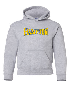 Hampton Central - 18500B Sport Grey Youth Pullover Hoodie