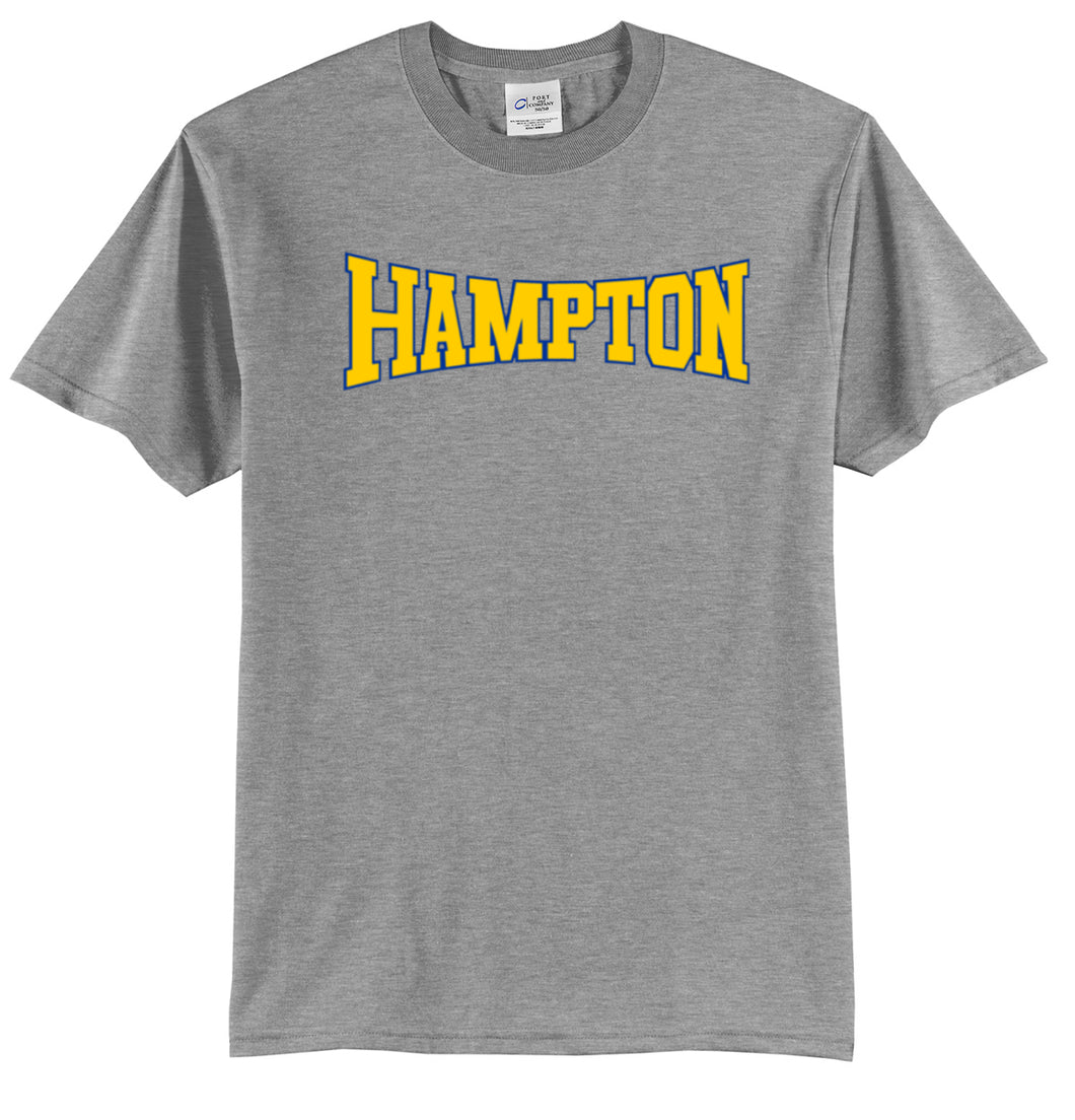Hampton Central - PC55T/PC61T Athletic Heather Tall Tee