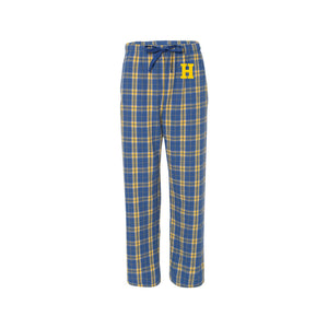 Hampton Holiday - F20 Boxercraft Royal/Gold Adult Sleep Pants