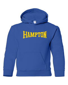 Hampton Central - 18500B Royal Blue Youth Pullover Hoodie