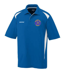 Hampton Embroidered Design With Name - 5012 Men's Sports Polo