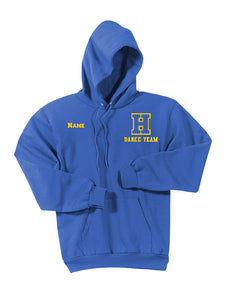 Hampton H With Name - PC90HT Tall Royal Blue Pullover Hoodie