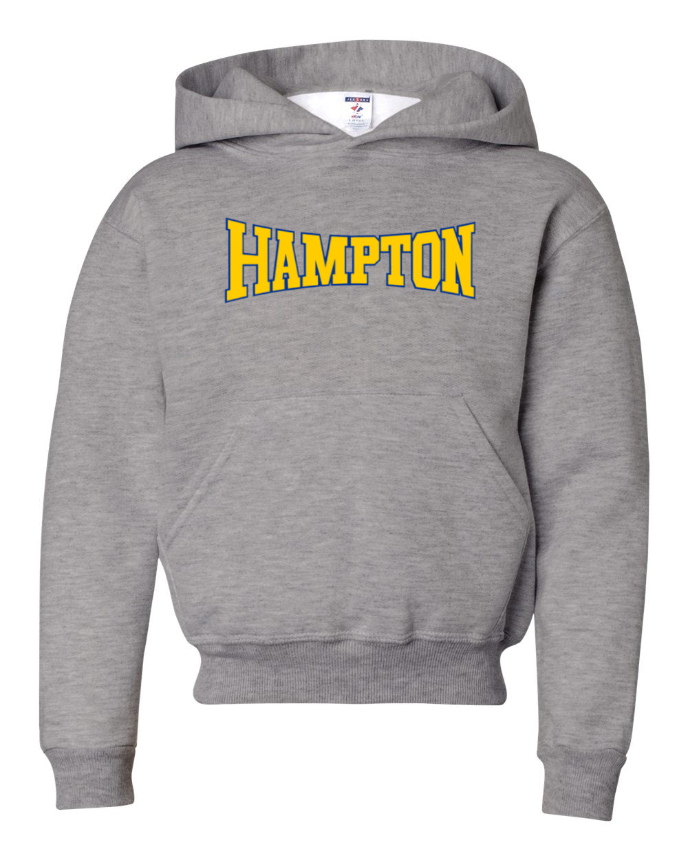 Hampton Central - 996Y Youth Oxford Grey Youth Pullover Hoodie
