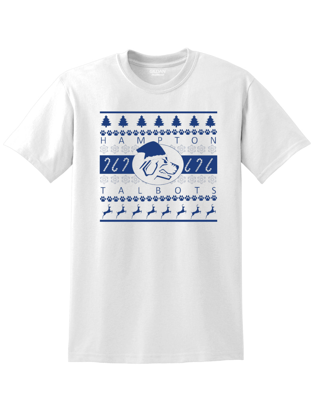 Hampton Band Holiday - 8000 Short Sleeve White Tee