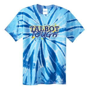 Hampton Central Talbot Tough - PC147Y Youth Royal Tie Dye Tee