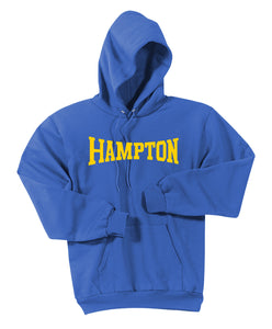 Hampton Central - PC90HT Tall Royal Blue Pullover Hoodie