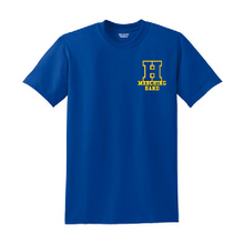 Load image into Gallery viewer, Hampton H - 8000B Youth 50/50 Royal Blue Tee