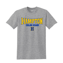 Load image into Gallery viewer, Hampton - 2000B Youth 90 Cotton / 10 Poly Sport Grey Tee