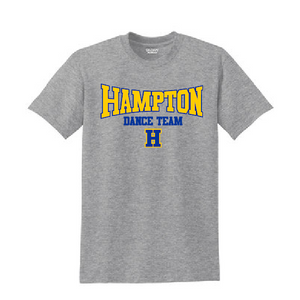 Hampton - 2000B Youth 90 Cotton / 10 Poly Sport Grey Tee